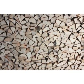 Odunların Ahengi 3 Boyutlu Duvar Kağıdı