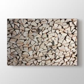 Odunların Ahengi Tablosu   Salon Için Duvar Tabloları