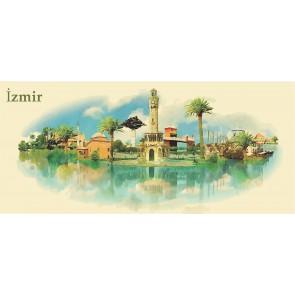 İzmir'in Resmi 3 Boyutlu Duvar Kağıdı
