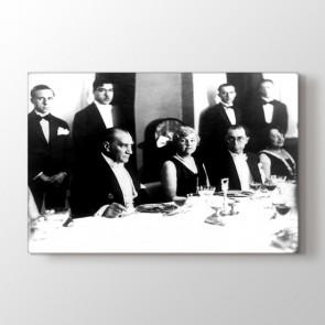 Atatürk Toplantıda Tablosu | Salon Için Tablo