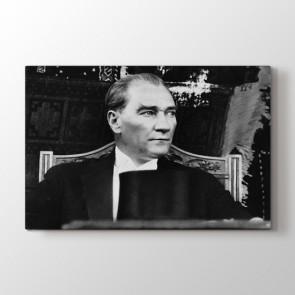 Nostaljik Atatürk Resmi Tablosu | Ev Için Tablolar