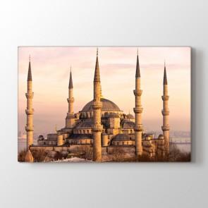 İstanbul Sultan Ahmet - Dini Resimli Kanvas Tablo Modeli