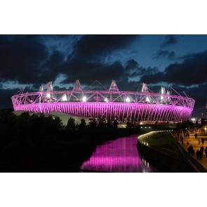 Londra Olimpiyat Stadı 3 Boyutlu Duvar Kağıdı Önizleme