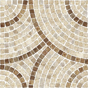 Mozaik Taş Duvar Duvar Kağıdı