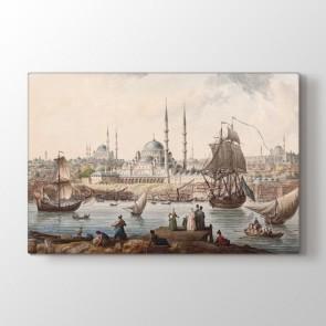 1776 Yılı Osmanlı Toprakları Tablosu - Dekoratif Tablolar