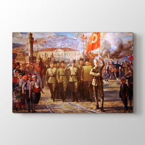Çanakkale Zaferi Ve Atatürk Tablosu - Ucuz Tablo