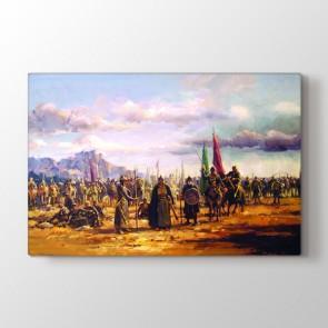 Osmanlı Seferde Tablosu - Hediyelik Tablo