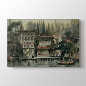 Osmanlı Dönemi Evler Tablosu - Duvar Tabloları Ve Fiyatları