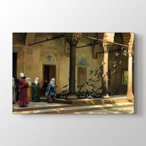Osmanlı Dönemi Martıların Görüntüsü Tablosu - Dikey Tablo