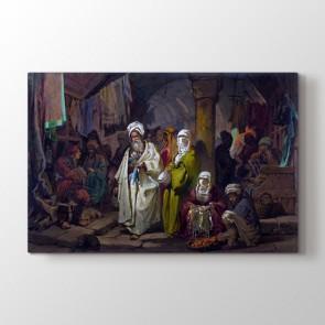 Osmanlı Kapalı Çarşı Tablosu - Tasarım Tablolar