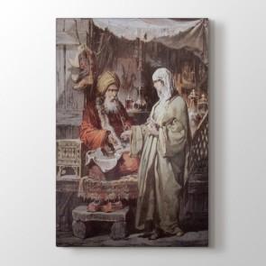 Osmanlı Hanesi Tablosu - Resimli Tablolar