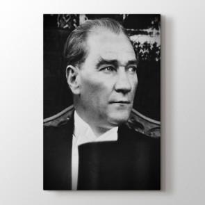 Mustafa Kemal Portresi Tablosu | Atatürk Kanvas Tabloları - duvargiydir.com