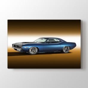 1970 Plymouth Cuda Araba Modeli Tablosu | Spor Araba Tabloları - duvargiydir.com