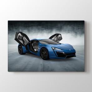W Motors Lykan Hypersport Tablosu | Araba Tablosu - duvargiydir.com