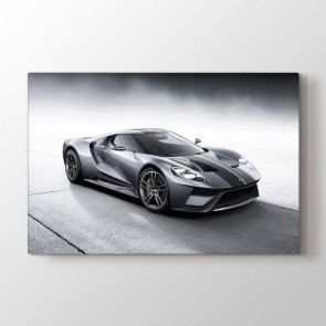 Ford GT Silver Tablosu | Spor Araba Tabloları - duvargiydir.com
