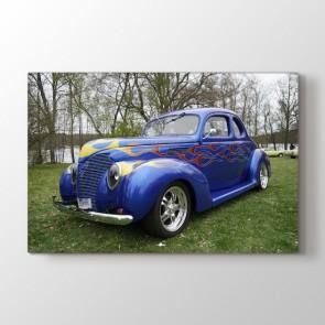 Klasik Araba Modeli Tablosu | Spor Araba Tabloları - duvargiydir.com