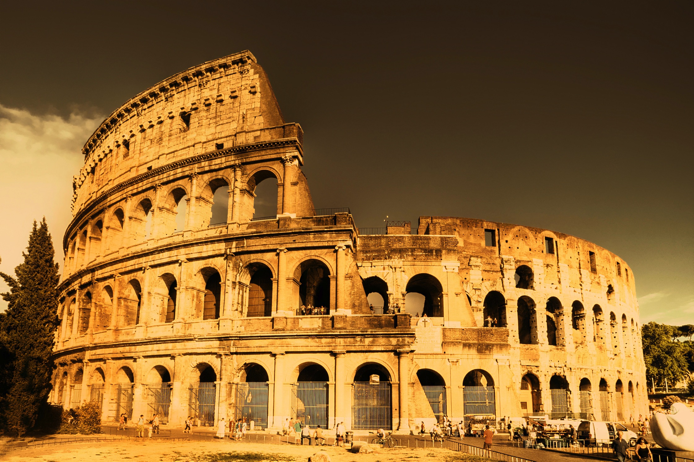 Roma Kolezyum Duvar Kağıdı