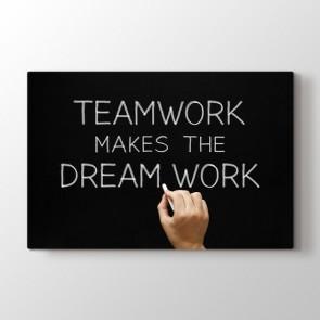 Takım Olmak Tablosu | Ofis Tablo Modelleri