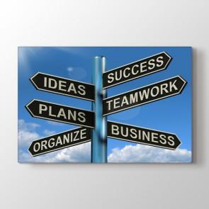 Başarıya Giden Yol Tablosu | Ofis Tabloları