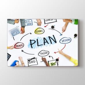 Doğru Planlamanın Önemi Tablosu | Ofis Tabloları