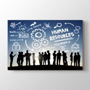 İnsan Kaynakları Tablosu | Ofis Için Tablo