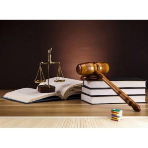 Adalet Mülkün Temeli - Hukuk Bürosu Duvar Kağıdı Modeli