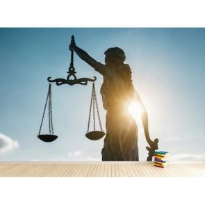 Hukuk Bürosu 3D Duvar Kağıdı Modeli
