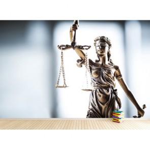 Hukukun Eşitliği 3D Duvar Kağıdı