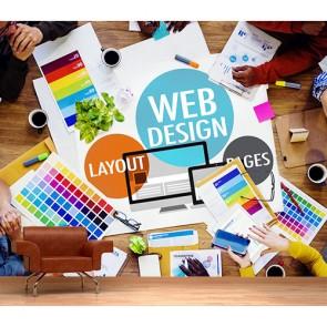 Web Tasarımı - Ofis 3 Boyutlu Duvar Kağıdı Modeli Uygulama