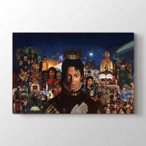 Popun Kralı - Modern Duvar Dekoru Kanvas Tablo