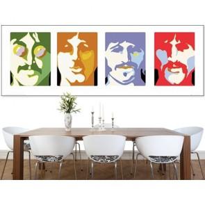 Beatles Poster Duvar Kağıdı Önizleme
