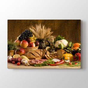 Farklı Lezzetler - Mutfak Resimli Tablo Modeli