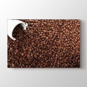 Kahve Kokusu - Mutfak Resimli Kanvas Tablo Modeli