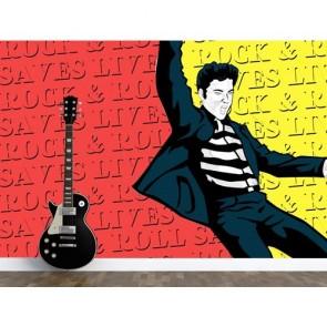 Rock Müziğin Kralı Duvar Kağıdı