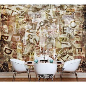 Gazete Küpürleri Duvar Kağıdı