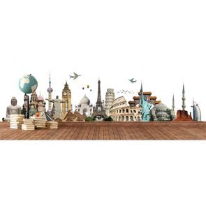 Seyahat Listem - Duvar Sticker ve Duvar Resimleri