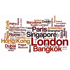 Tipografi Dünya Şehirleri