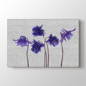 Örgü Çiçekler Tablosu | Cafe Tabloları