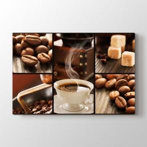Sade Kahve Tablosu | Kafe Kanvas Tablo