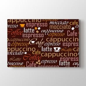Kahve Çeşitleri Tablosu | Restoran Tabloları