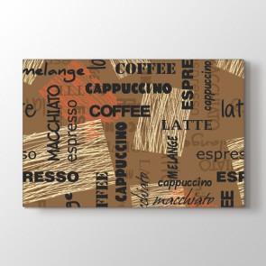 Sütlü Latte Tablosu | Cafe Tabloları