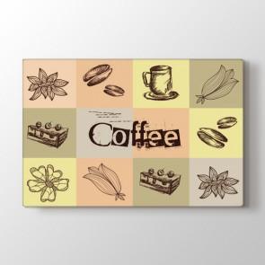 Kahve Kek Uyumu Tablosu | Restoran Kavnas Tablo