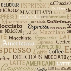 Kahve İsmi Deseni