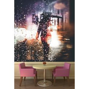 Yağmur ve Gizem Kafe ve Restoran Duvar Kağıdı Modeli