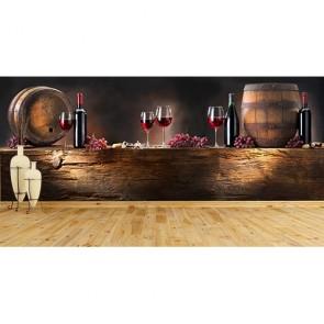 Şarap Evi - Lokanta Resimli Duvar Kağıdı Modeli