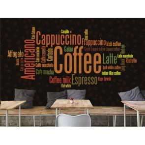 Coffee Shop - Kafe ve Restoran İçin Resimli Duvar Kağıdı Modeli Uygulama