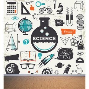 Bilim Çağı 3 Boyutlu Duvar Kağıdı