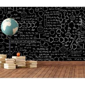 Kimyasal Formüller 3 Boyutlu Duvar Kağıdı