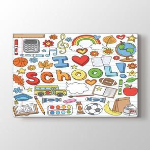 Okulu Seviyorum Tablosu | Ders Tabloları