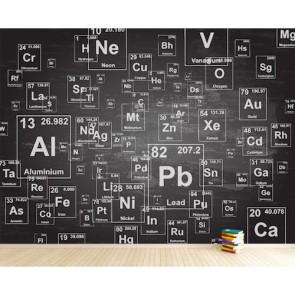 Elementler Dünyası Okul Kreş Ofis Duvar Kağıtları